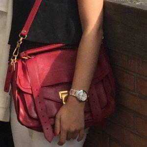 Proenza Schouler PS1 Medium Chianti Red